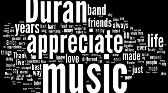 Duran Duran Appreciation Day 2014 Part 2