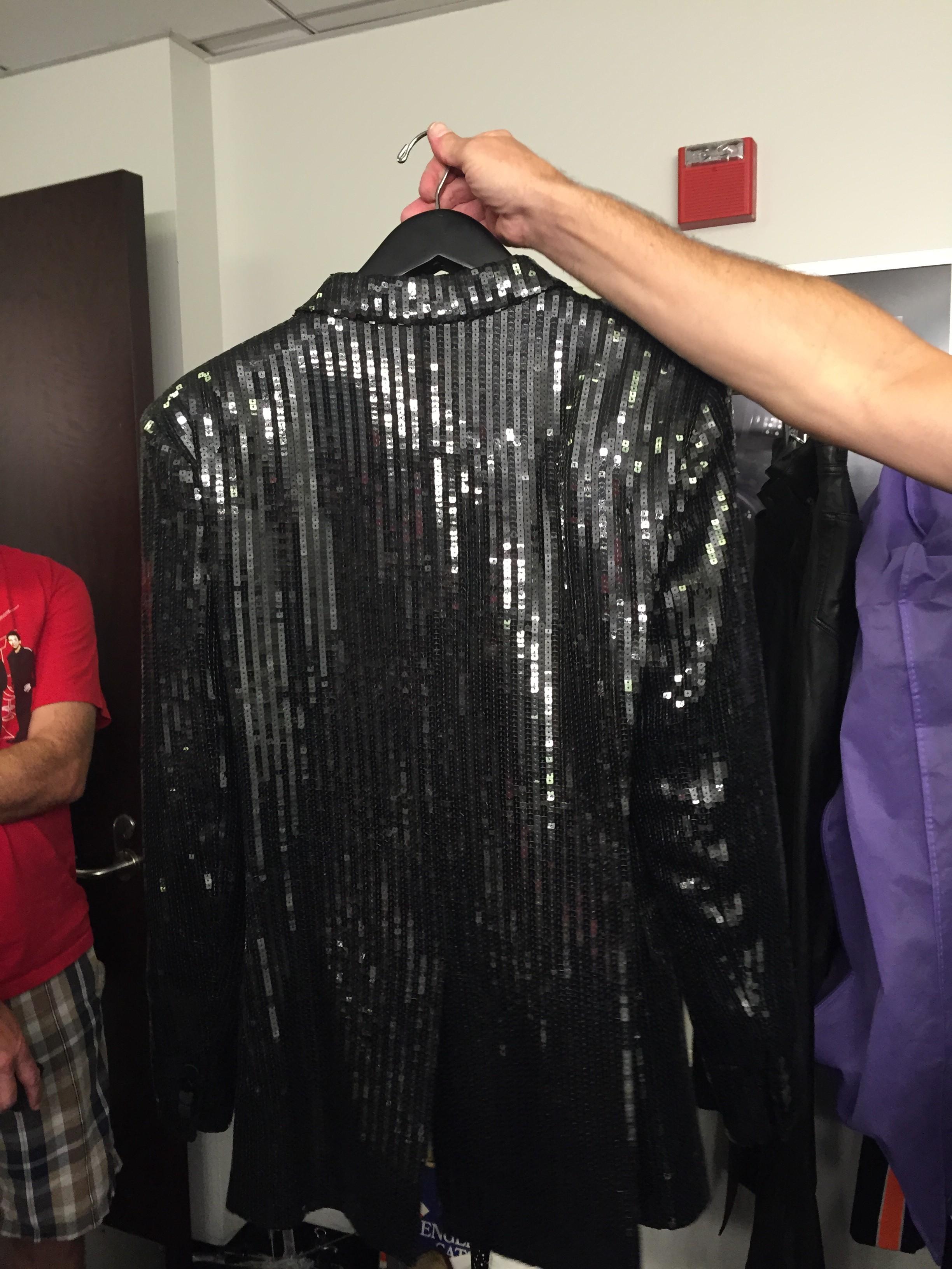 Simon's tuxedo jacket